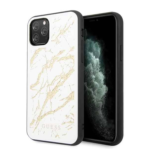 GUESS HARD CASE GLITTER MARBLE GUHCN58MGGBK IPHONE 11 PRO