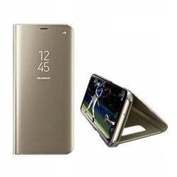 CASE CLEAR VIEW COVER SAMSUNG GALAXY NOTE 20 GOLD