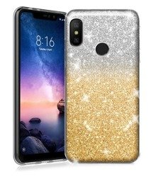 CASE GLITTER GOLD LENOVO MOTO E5 PLAY