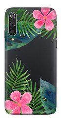 CaseGadget CASE OVERPRINT LEAVES AND FLOWERS XIAOMI MI 9 PRO