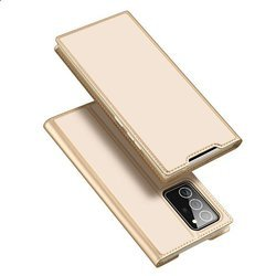 DUX DUCIS SKIN PRO CASE WITH FLAP SAMSUNG GALAXY NOTE 20 ULTRA GOLD