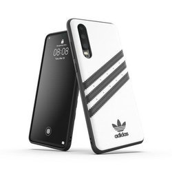 ETUI ADIDAS OR MOULDED PU FW19 HUAWEI P30 WHITE/BLACK