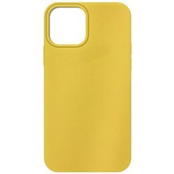 ETUI SILICONE CASE IPHONE 12 PRO MAX YELLOW