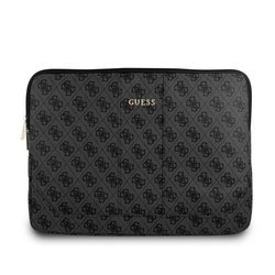 GUESS SLEEVE GUCS134GG 13 '' GRAY LAPTOP BAG 4G UPTOWN