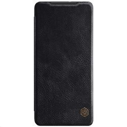 NILLKIN QIN BOOK LEATHER CASE SAMSUNG GALAXY A12 BLACK