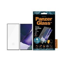 PANZERGLASS TEMPERED GLASS CURVED SUPER + SAMSUNG NOTE 20 ULTRA CASE FRIENDLY ANTIBACTERIAL BLACK
