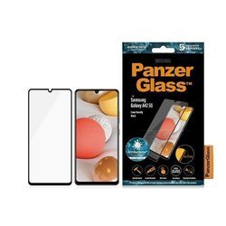 PANZERGLASS TEMPERED GLASS E2E SUPER + SAMSUNG A42 5G CASE FRIENDLY ANTIBACTERIAL BLACK