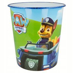 PAW PATROL WASTE BASKET CONTAINER