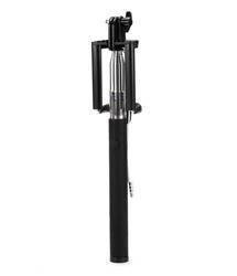 SELFIE STICK MONOPAD STICK HANDLE WITH CABLE BLACK