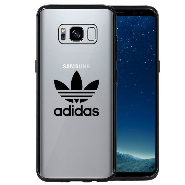 release date 1280d 46674 ADIDAS OR CLEAR CASE ENTRY SAMSUNG GALAXY S8 GUN METAL | New ...