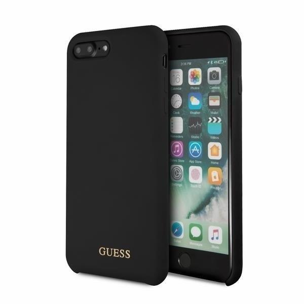 Guess Hard Case Silicone Guhci8llsglbk Iphone 7 8 Plus Black Apple
