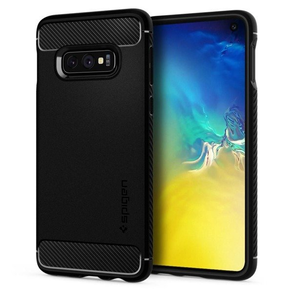 buy popular 85c84 76392 SPIGEN RUGGED ARMOR 609CS25837 SAMSUNG GALAXY S10E MATTE BLACK ...