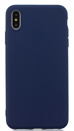 CASE 0.3 MM BLUE MAT IPHONE XS MAX