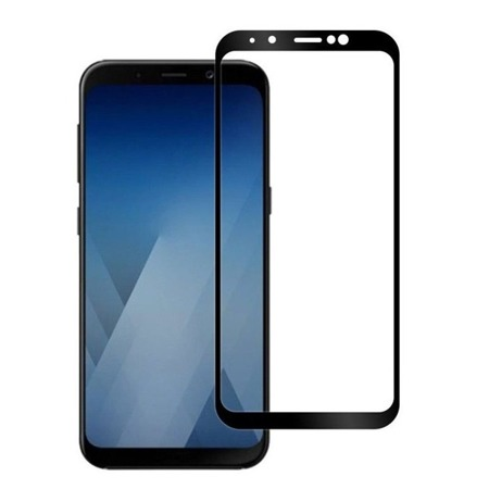 TEMPERED GLASS MOCOLO TG + 3D SAMSUNG GALAXY A5 2018 (A8 2018) BLACK