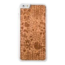 CASE ETUI DREWNIANE SMARTWOODS BIRDS CLEAR IPHONE 5 5S