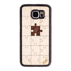 CASE ETUI DREWNIANE SMARTWOODS PUZZLE SAMSUNG GALAXY A3 2016