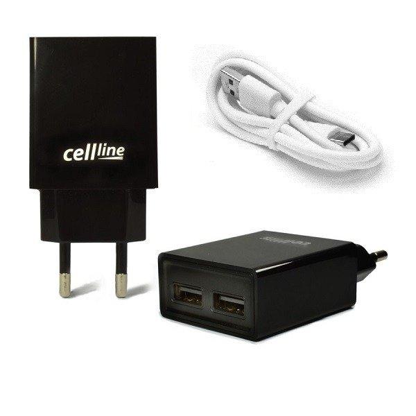 adowarka cellline 2a kabel usb typ c bia y 1m monstelo. Black Bedroom Furniture Sets. Home Design Ideas